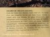 Dolmen de Molers - Saldes - Informació que figura en una placa situada davant de les pedres
