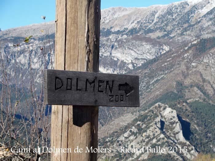 """Camí al Dolmen de Molers - Restaurant """"El cruse"""""""