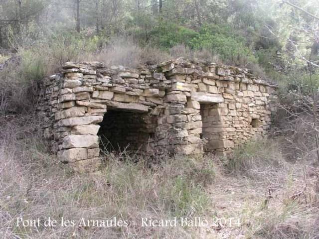 El Pont de les Arnaules – Manresa -Cabana de camp.