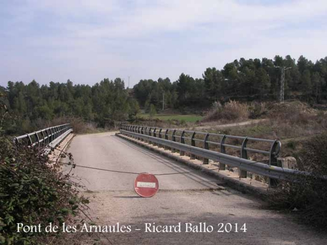 El Pont de les Arnaules – Manresa - Pont que creuem a peu.