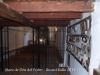 Ermita de la Mare de Déu del Pedró – Sant Hilari Sacalm - Fotografia obtinguda introduint l'objectiu de la màquina de fotografiar a través de la reixa d'una finestra - A la dreta, a la paret, hi han exposats exvots