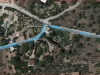 Ermita de Sant Bernabé dels Molins – Tortosa - Itinerari - Captura de pantalla de Google Maps, on es pot observar l'estranya denominació d'un carrer