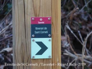 Ermita de Sant Corneli-Tavertet-Detall camí