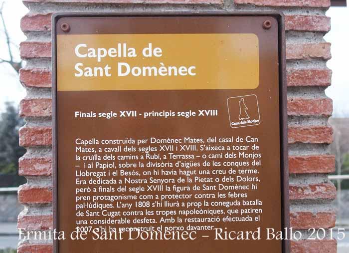 Ermita de Sant Domènec – Sant Cugat del Vallès
