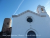 Ermita de Sant Joan Baptista – Blanes - Al darrere apareix la imatge del Castell de Blanes