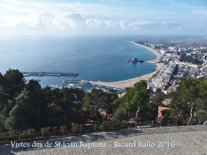 Vistes des de l'Ermita de Sant Joan Baptista – Blanes