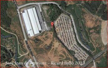 Ermita de Sant Joan – Castellbisbal - Captura de pantalla de Google Maps