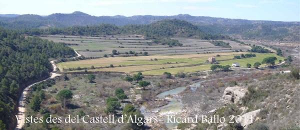 Vistes des del Castell d'Algars - Batea