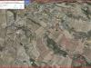 Ermita de Sant Joan de Maldanell – Maldà - Captura de pantalla de Google Maps, complementada amb anotacions manuals.