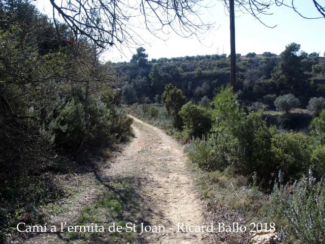 Camí d'accés a l'Ermita de Sant Joan – Juncosa