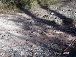 Camí d'accés a l'Ermita de Sant Joan – Riudaura - Algunes vistes del camí