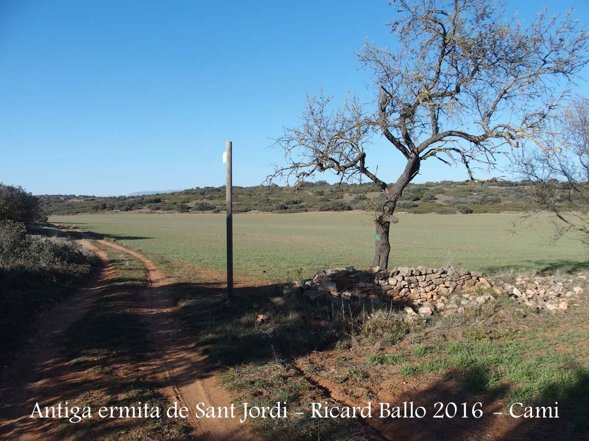 Camí a l'Ermita VELLA de Sant Jordi - Camarasa