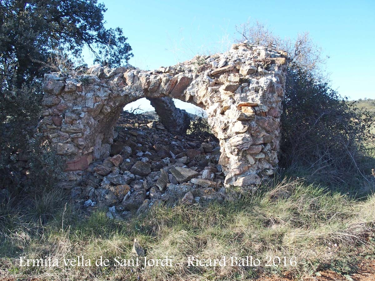 Ermita VELLA de Sant Jordi - Camarasa