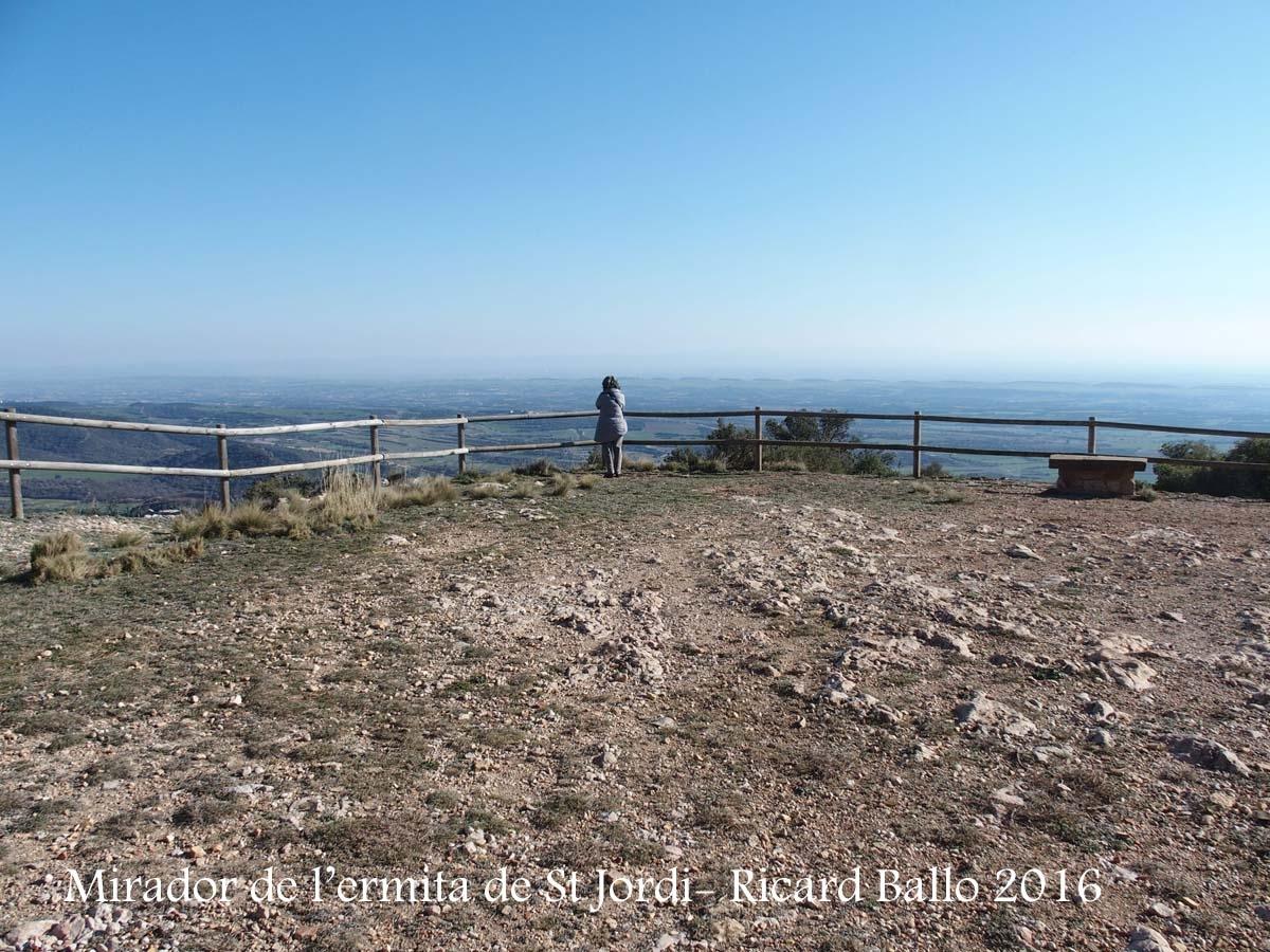 Mirador des de l'ermita NOVA de Sant Jordi - Camarasa