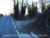 Ermita de Sant Llorenç Dosmunts – Rupit i Pruit - Sortida de carretera asfaltada i entrada a camí de terra