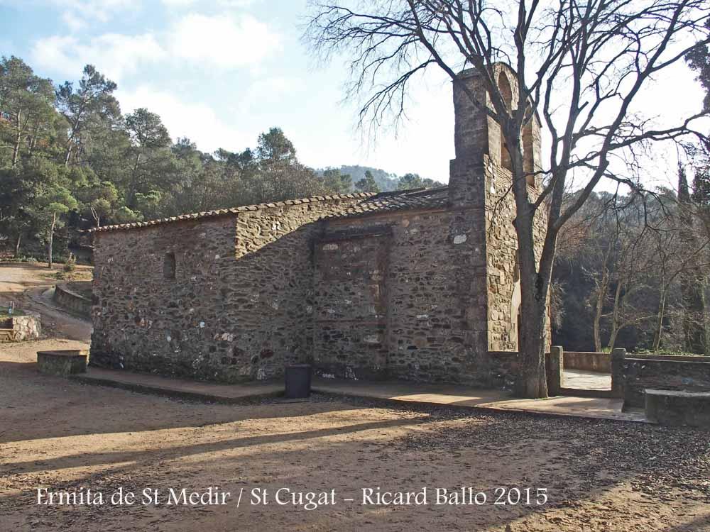 Ermita de sant medir sant cugat del vall s vall s - Cugat del valles ...