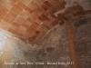 Interior de l'Ermita de Sant Pere – Olius - Sembla que la volta està en bon estat ... Tenim sostre per temps (?) ...