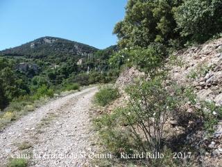 Camí a l'Ermita de Sant Quintí – Odèn