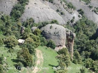 """Aquí ja veiem """"l'elefant"""" i l'ermita de Sant Quintí"""