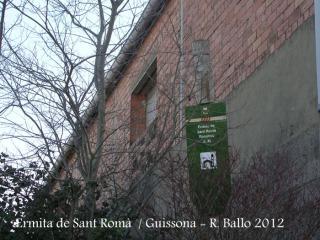 Ermita de Sant Romà - Guissona