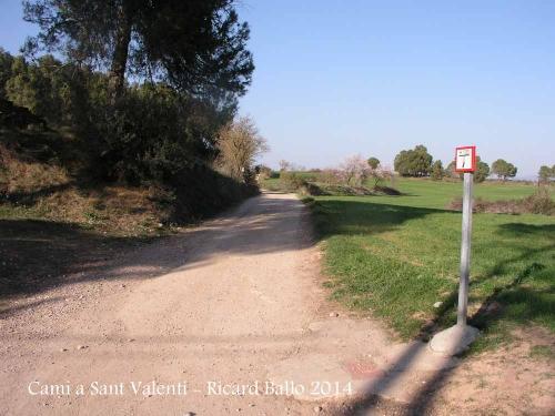 Camí a l'ermita de Sant Valentí de les Brucardes – Sant Fruitós de Bages