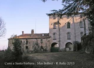 Ermita de Santa Bàrbara – Anglès - Mas Bellveí.