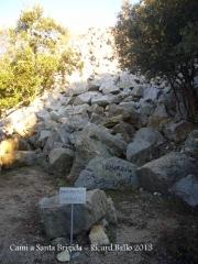 Ermita de Santa Brígida – Amer - Part final de l'itinerari.