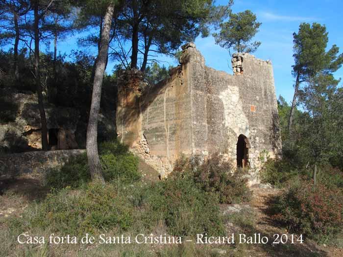 Torre forta de Santa Cristina – La Bisbal del Penedès