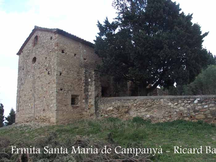 Ermita de Santa Maria de Campanyà – Sant Cugat del Vallès