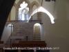 Ermita del Pedregal – Tàrrega - Interior de l'ermita - Fotografia obtinguda introduint l'objectiu de la màquina de retratar per una de les petites finestres de la façana davantera