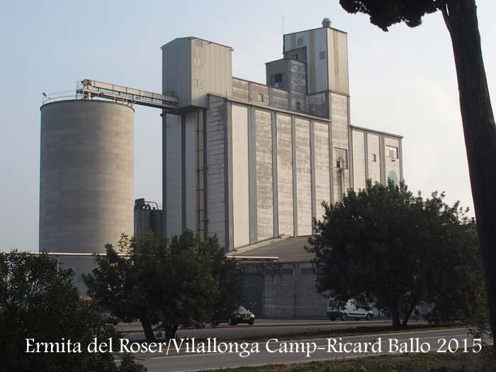 Ermita del Roser – Vilallonga del Camp-Part de l'itinerari