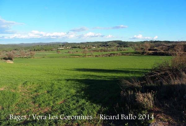 El Bages - Pels voltants de l'església de la Mare de Déu de Les Coromines – Aguilar de Segarra.