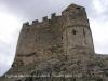 Església de la Santa Creu de Calafell – Calafell - Vista de l'absis, sobrealçat, i formant part de la muralla del castell.