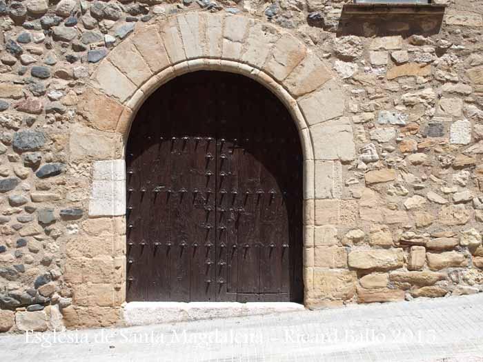 Església de l'Hospital de Santa Magdalena – Montblanc