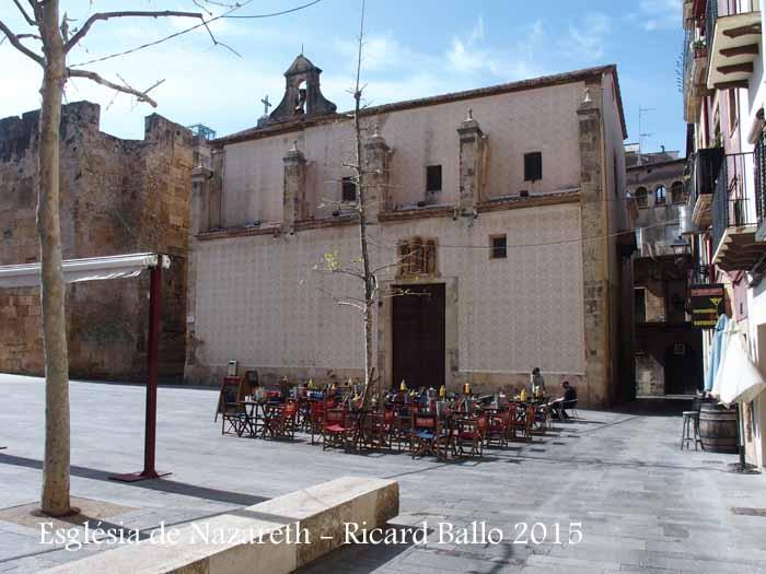 Església de Nazareth – Tarragona