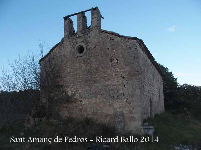 Església de Sant Amanç de Pedrós – Santa Maria de Merlès