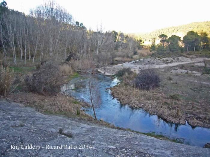 Calders - Riu Calders - Hivern 2014.