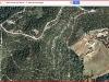 Església de Sant Andreu de Bellveí – Calders - Itinerari - 3ª Part - Captura de pantalla de Google Maps, complementada amb anotacions manuals.