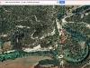 Església de Sant Andreu de Bellveí – Calders - Itinerari - 4ª Part - Captura de pantalla de Google Maps, complementada amb anotacions manuals.