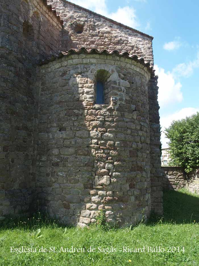 Església de Sant Andreu de Sagàs