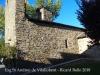 """Església de Sant Andreu de Vilallobent – Puigcerdà - Al mur de la paret sud hi ha interessants fileres d'""""opus spicatum"""" d'època romànica."""""""