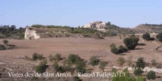 Vistes des de l'església de Sant Antolí – Ribera d'Ondara