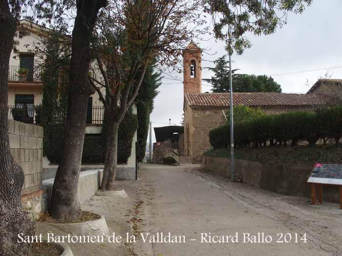 Església de Sant Bartomeu de la Valldan - Berga