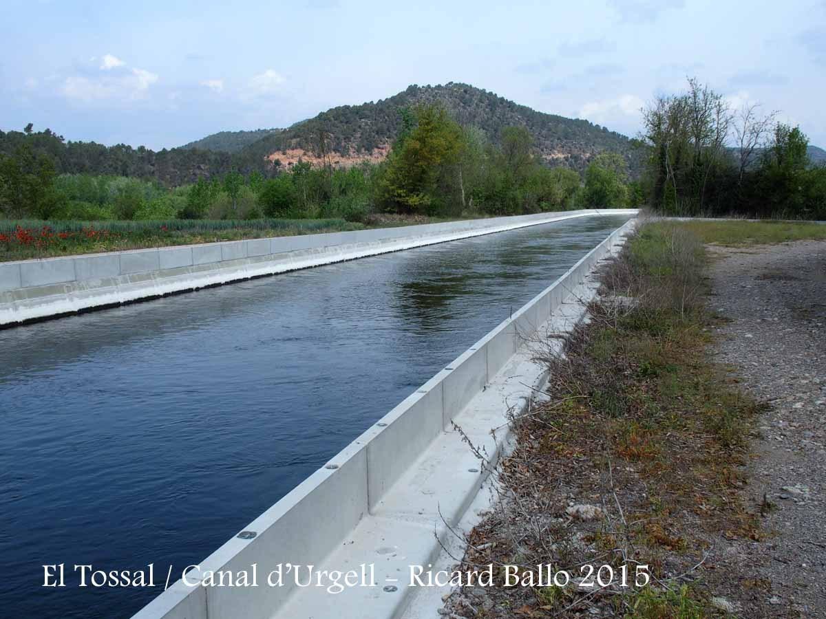 Voltants de l'Església de Sant Bartomeu – Ponts / Canal d'Urgell