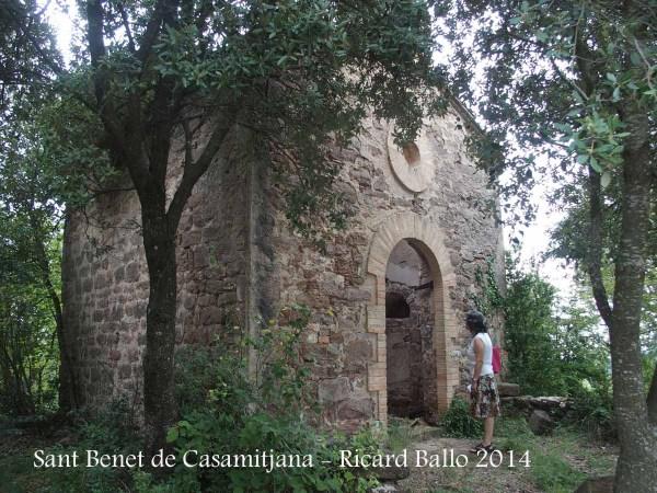 Església de Sant Benet de Casamitjana – Borredà