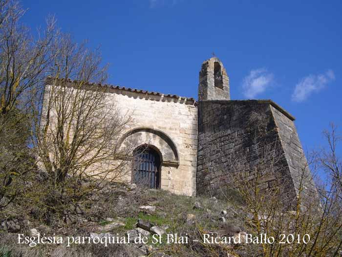 Església de Sant Blai del Fonoll – Passanant i Belltall