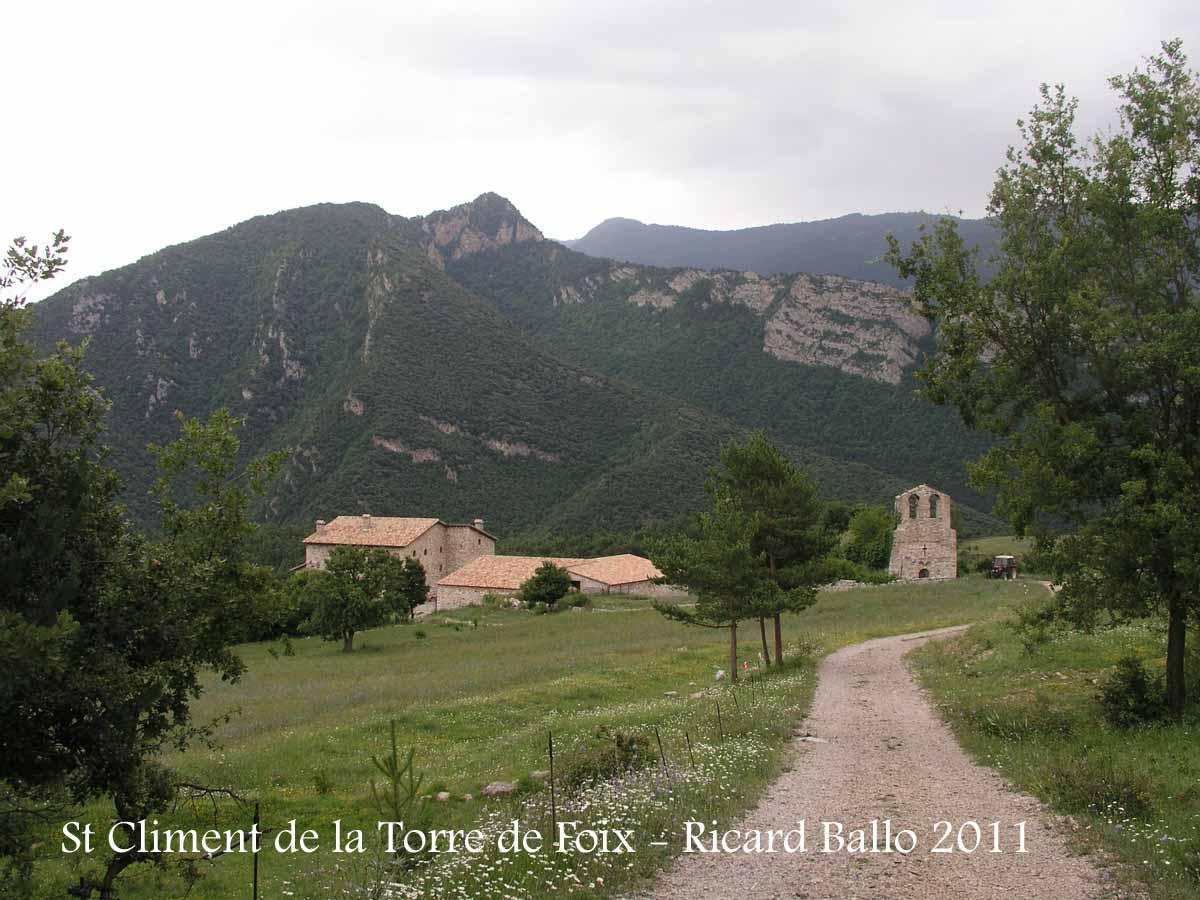 Església de Sant Climent de la Torre de Foix – Guardiola de Berguedà