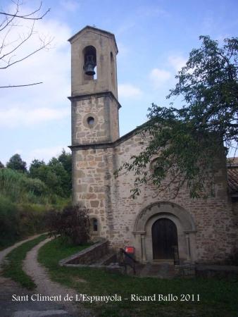 Església de Sant Climent de L'Espunyola