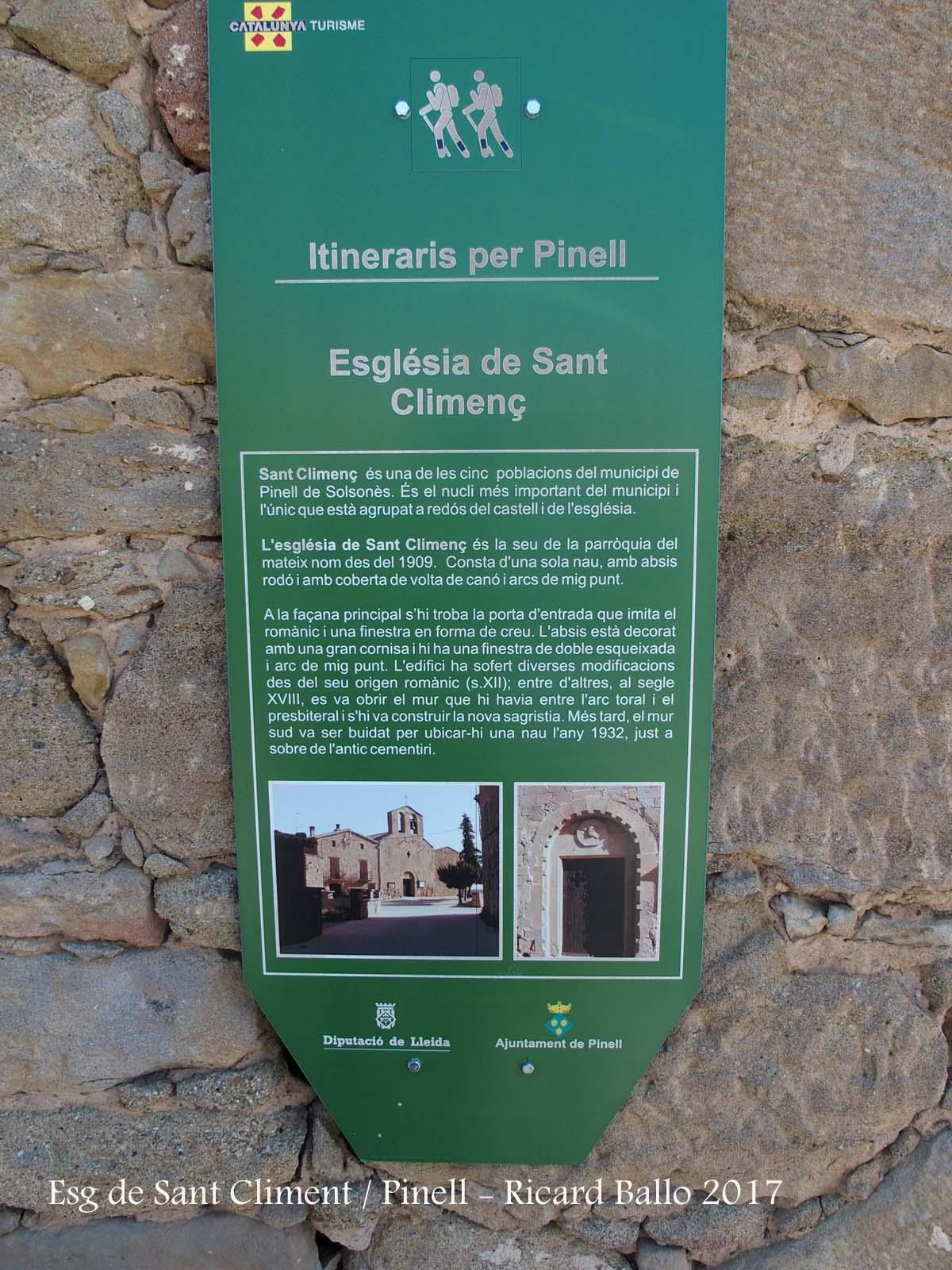 Església de Sant Climent–Pinell de Solsonès