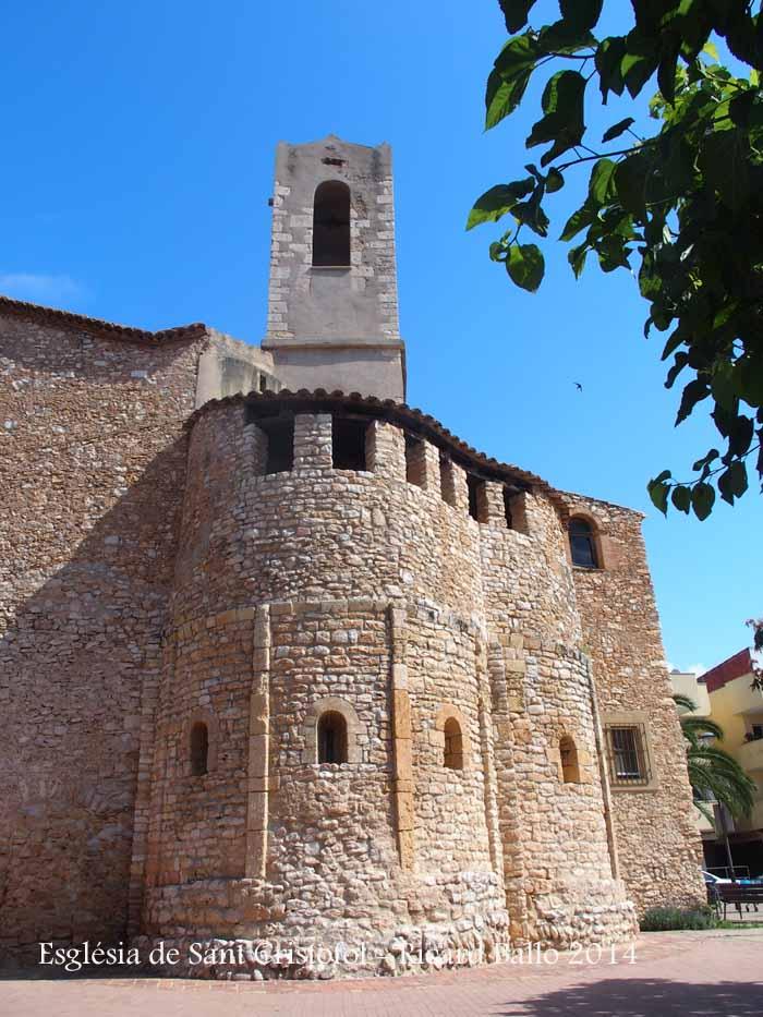 Església de Sant Cristòfol - Cunit